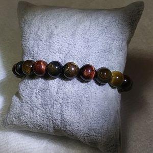 Jewelry - Natural 3 color tiger eye stone bracelet